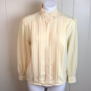 Vintage 70s/80s Button Down Blousy Top